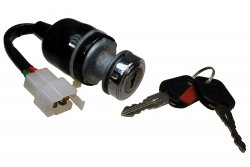 Switch, Keyed Ignition, 3-wire [Heavy Duty]