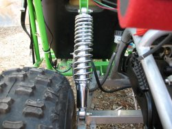 BDX S2 Rear shocks for Yerf Dog GX150