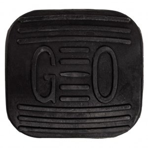 Gas Pedal Rubber Pad for the Coleman KT196 and Hisun HS200GK Go-Kart